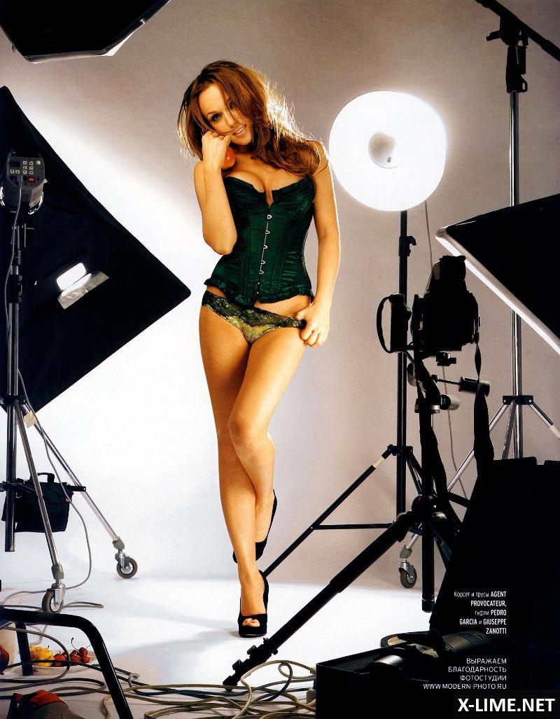 Голая Альбина Джанабаева в эротической фотосессии PLAYBOY