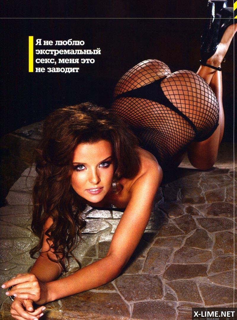 Обнаженная Инна Цимбалюк в эротической фотосессии MAXIM