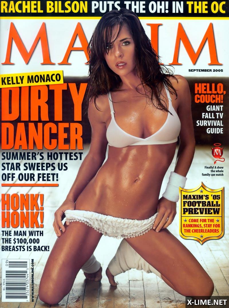 Голая Келли Монако в откровенной фотосесии MAXIM
